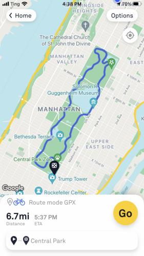 How To Download Rides with Beeline Bike App